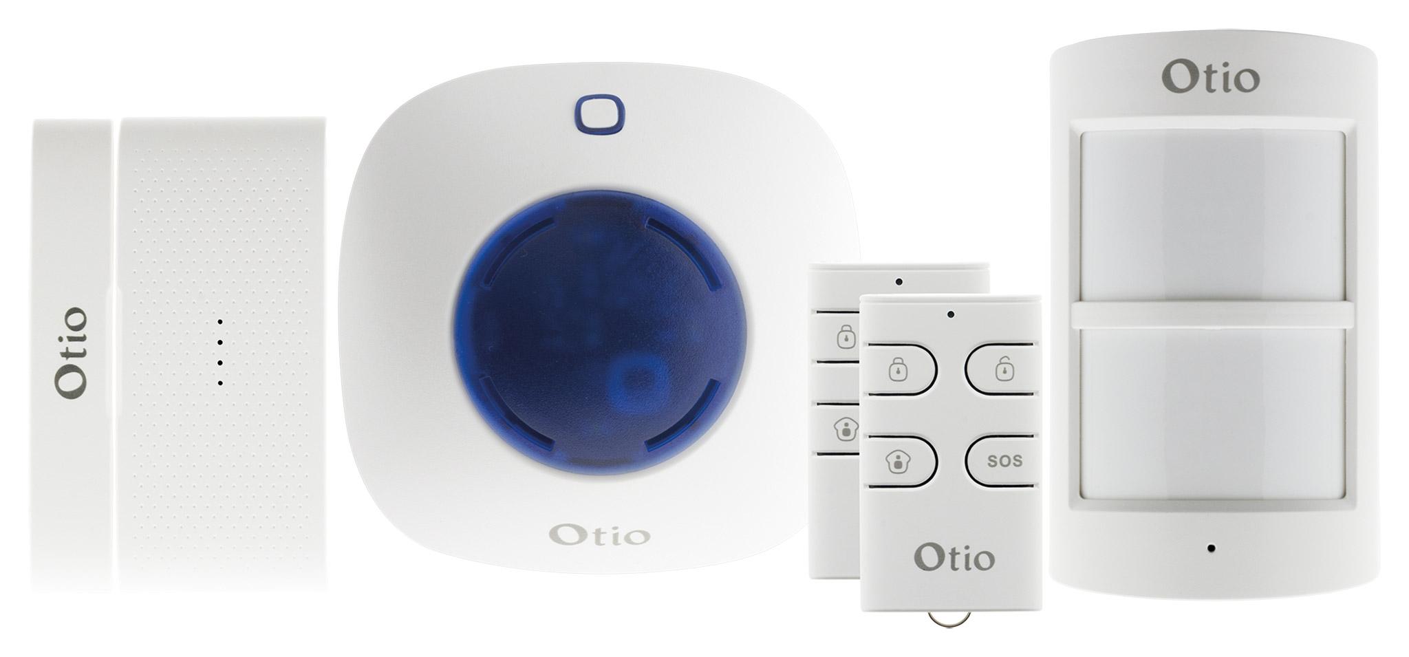 contacteur de porte sans fil bi directionnel pour alarme 75500x. Black Bedroom Furniture Sets. Home Design Ideas